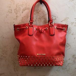 Frank Lyman coral purse